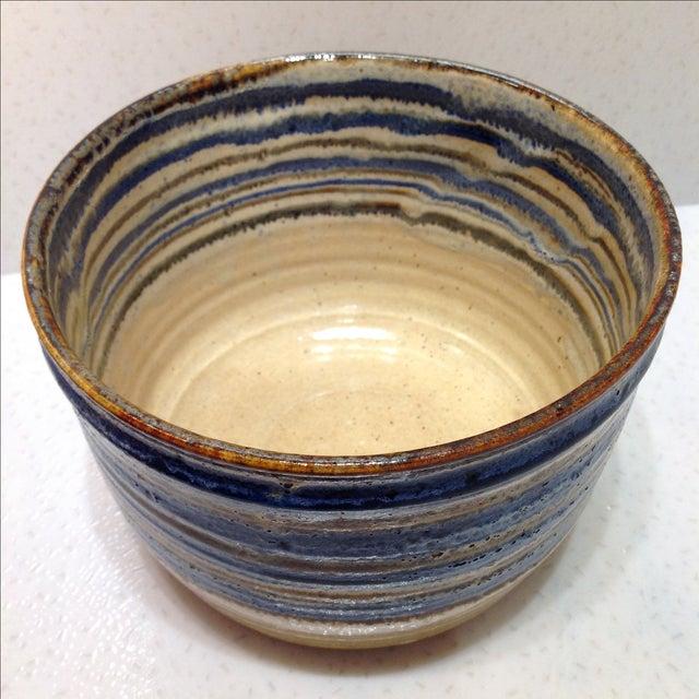 Vintage Handmade Pottery Bowl - Image 4 of 10