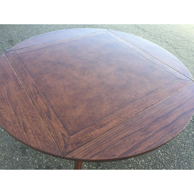 Dining Table With Leaves For Sale In San Francisco - Image 6 of 11