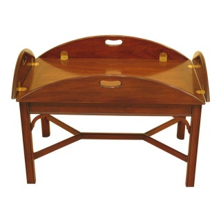 Henkel Harris Model 5212 Mahogany Butler Coffee Table For Sale