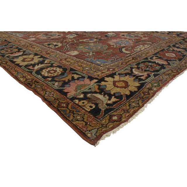 Sultanabad Rugs are known for their extravagant floral designs, grand scale motifs and exquisite colors. Featuring a...
