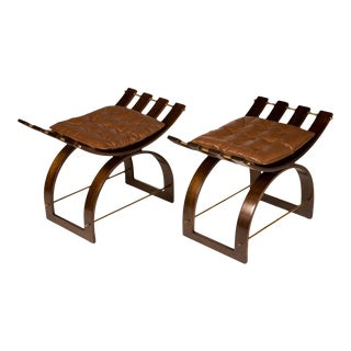 Harvey Probber Knights Benches - a Pair For Sale