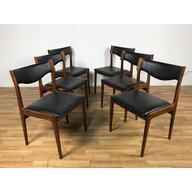 Mid-Century Danish Rosewood Dining Set - Image 10 of 11