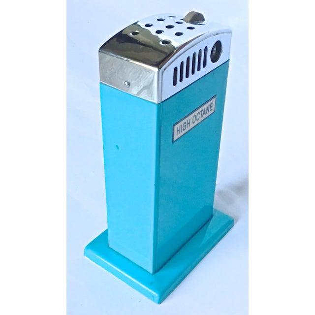 vintage gas pump high octane cigarette lighter chairish. Black Bedroom Furniture Sets. Home Design Ideas