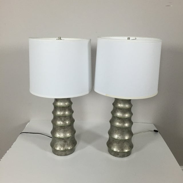 A. Rudin Modern Table Lamps - A Pair - Image 2 of 5