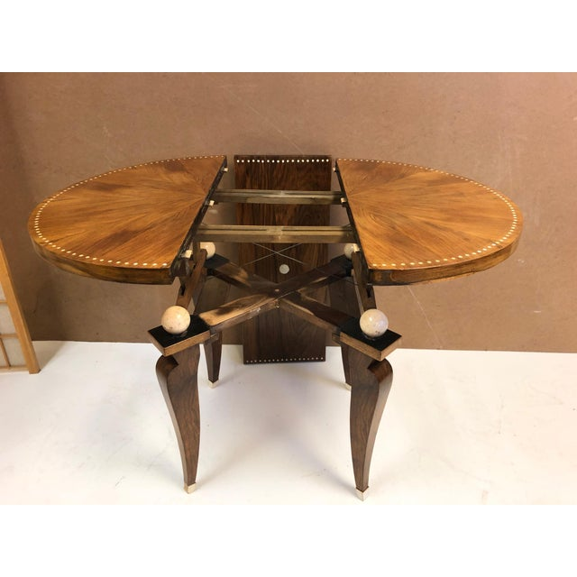 1930s French Art Deco Adjustable Table For Sale In New York - Image 6 of 11