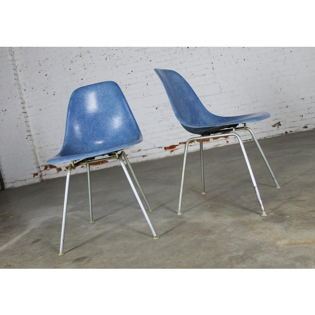 Vintage Herman Miller Eames Molded Fiberglass DSX Chairs - A Pair - Image 7 of 11