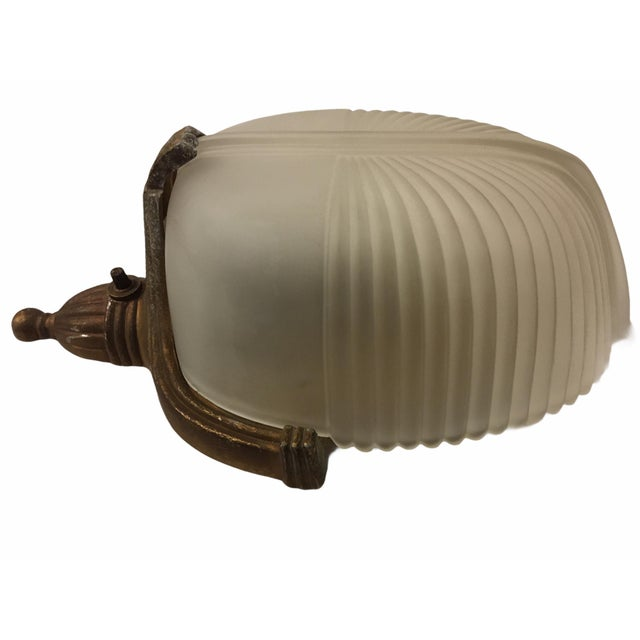 1920s Vintage 1920s Art Deco Wall Sconce For Sale - Image 5 of 9