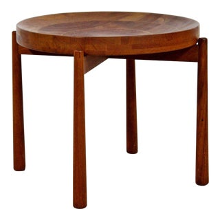 1960s Scandinavian Modern Jens Quistgaard Teak Side Table