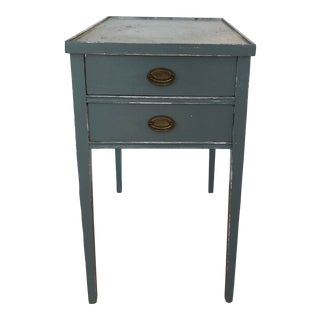 Vintage French Painted Side Table For Sale