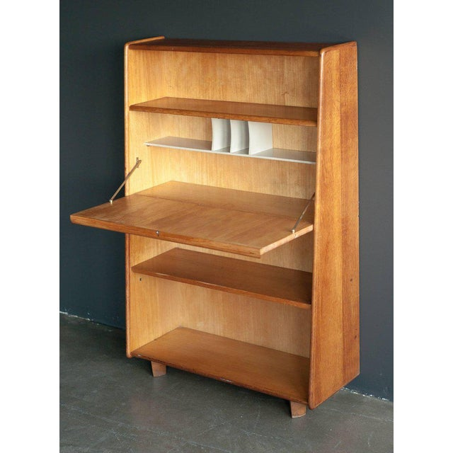Cabinet/Secretaire designed by Cees Braakman for UMS Pastoe the Netherlands. The cabinet is marked on the back with a...