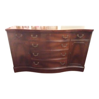 Traditional Mahogany Sideboard by Drexel For Sale
