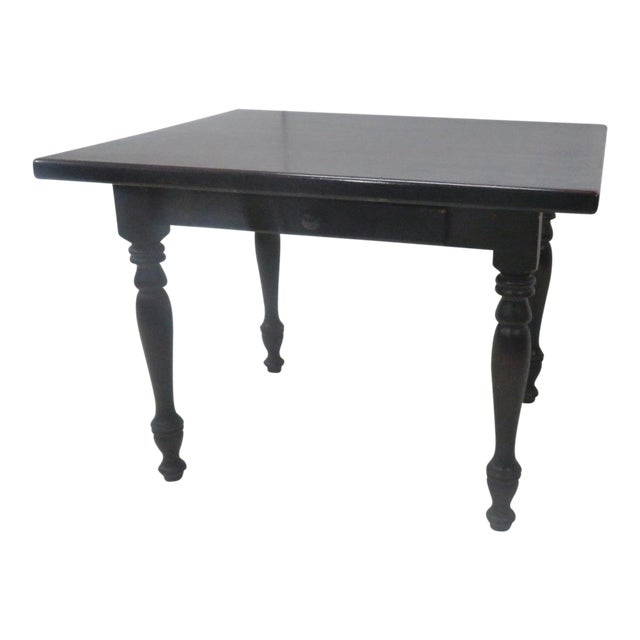 Country Paint Distressed Farm Table For Sale