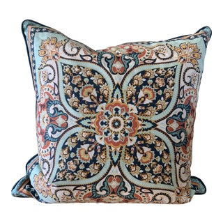 Large Boho Chic Decor Throw Pillow For Sale