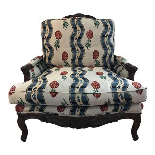 French Sherrill Bergere Chair