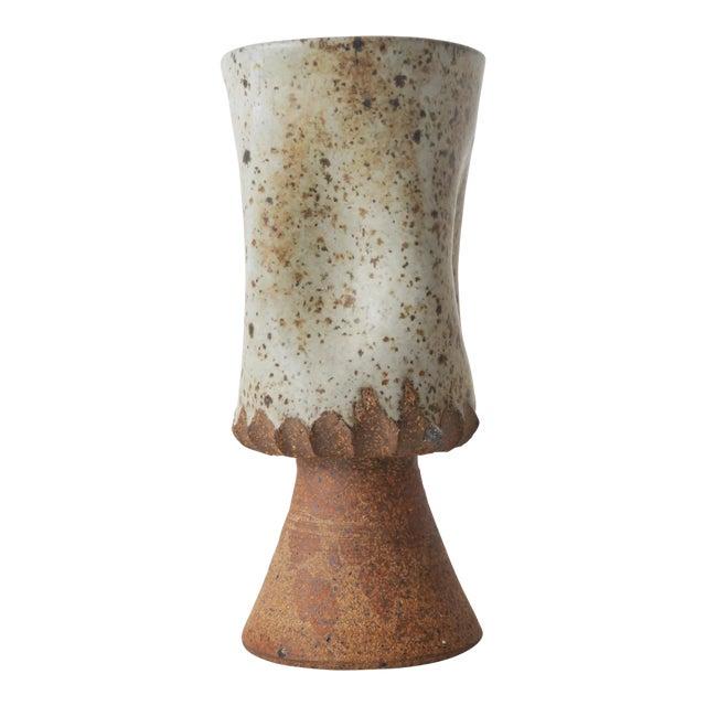 Vintage Ceramic Studio Pottery Vase For Sale