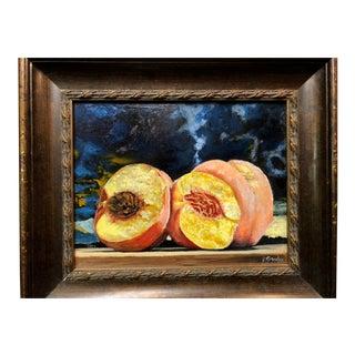 """Peaches No Cream"" Contemporary Painting"