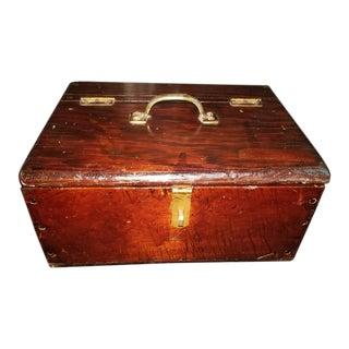 Vintage Pine Work Box
