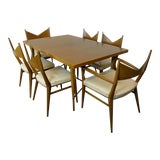 Image of 1950s Mid Century Modern Paul McCobb Dining Set - 7 Pieces For Sale