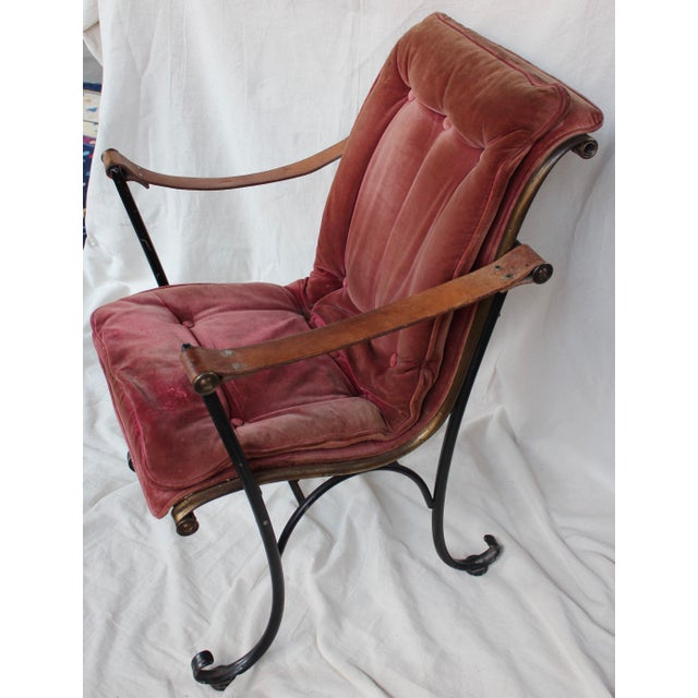 Vintage Campaign Chair For Sale - Image 5 of 10