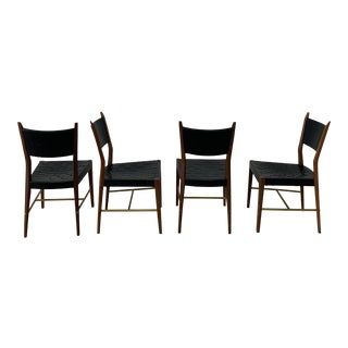 1950s Paul McCobb Irwin Collection Dining Chairs for Calvin Furniture - Set of 4 For Sale