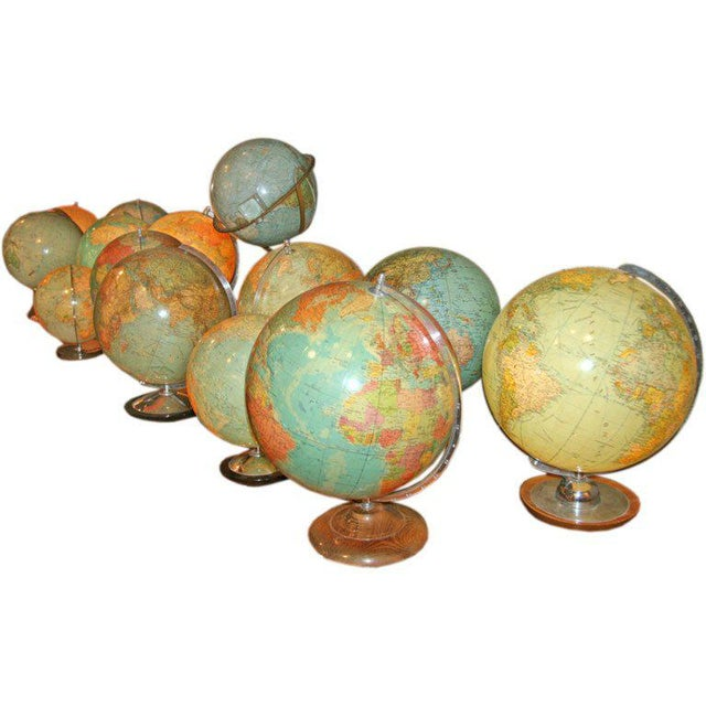 Swedish & German Glass Globes For Sale In Los Angeles - Image 6 of 6
