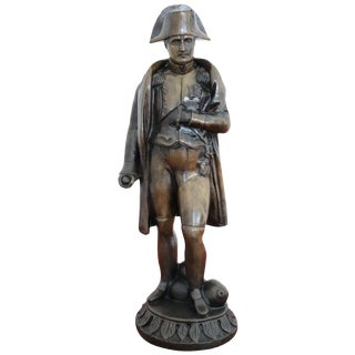 20th Century French Sculpture in Bronze Napoleon Figure, 1940s For Sale