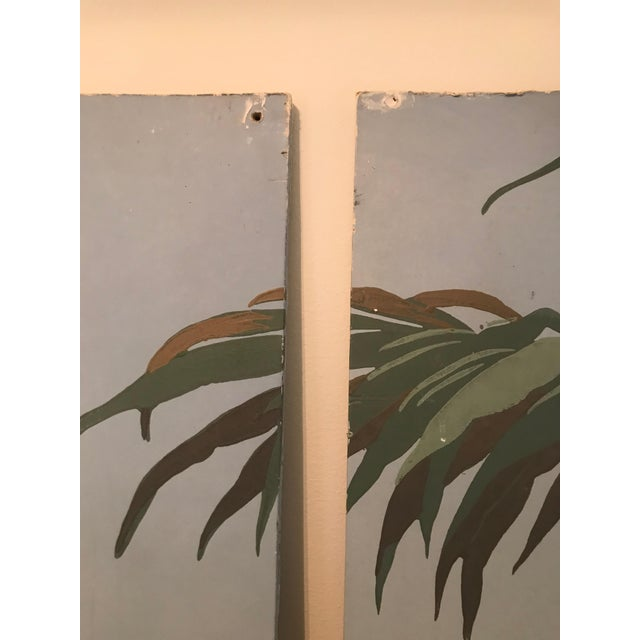 Zuber Wallpaper Panels Mounted on Boards - Set of 4 For Sale - Image 11 of 12