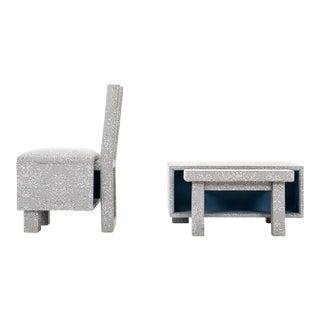 Studio Mingle-Maeda Chair and Side Table for Droog For Sale