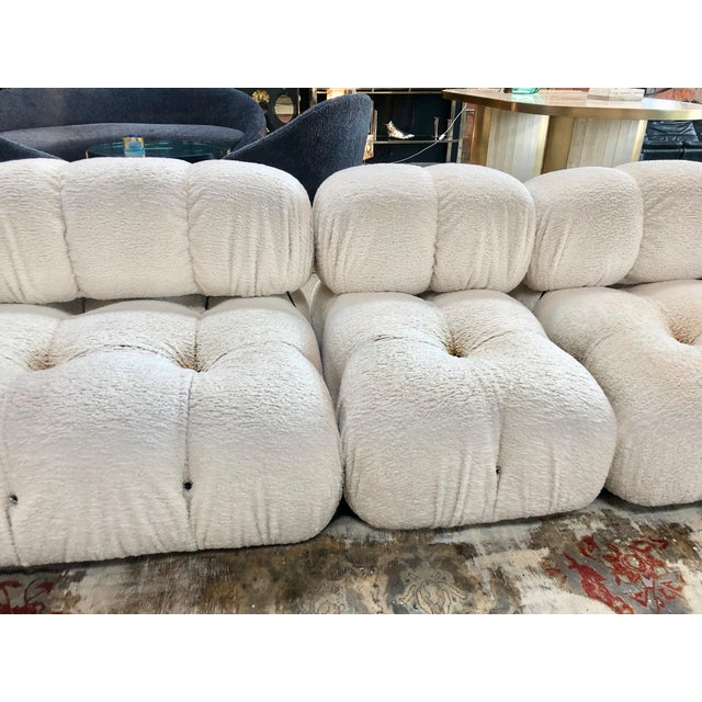 White 1970s Camaleonda Sectional Sofa by Mario Bellini For Sale - Image 8 of 11