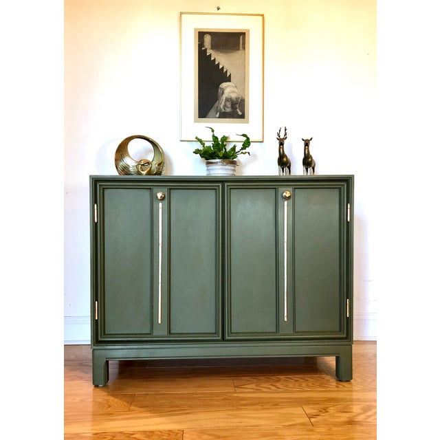 1970s 1970's Vintage Campaign Credenza For Sale - Image 5 of 8
