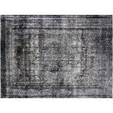 "Image of Nalbandian - 1950s Overdyed Persian Kerman Carpet - 8' X 10'9"" For Sale"