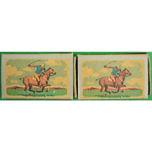 1955 Ohio Blue Tip Polo Matchbooks - A Pair - Image 2 of 4