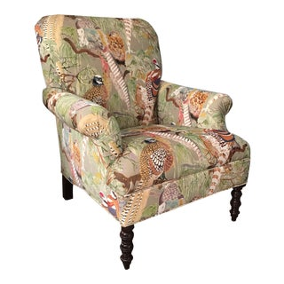 Mulberry Home Gp & J Baker Game Birds Kravet Armchair For Sale