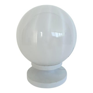 1960s Italian Murano Glass Desk Lamp For Sale