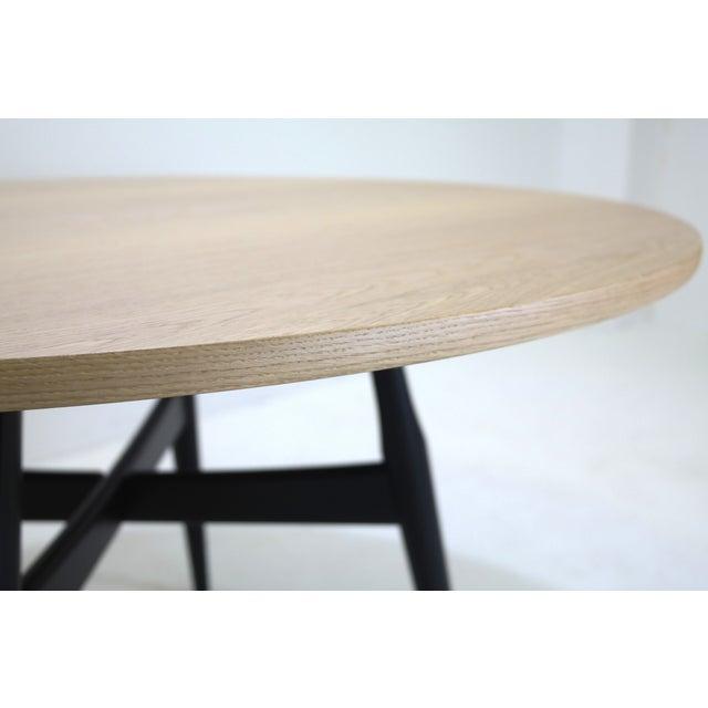 Hans Wegner Mid-Century Modern Dining Table GE-526 - Image 4 of 7