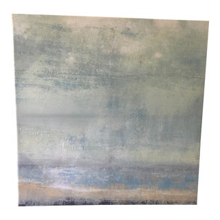 Abstract Oil on Canvas Painting