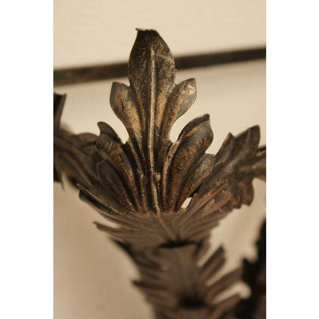 """44"""" Tall Metal Wall-Hung Sconces - Image 7 of 9"""