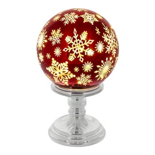 Twinkle Ball on Stand Large For Sale