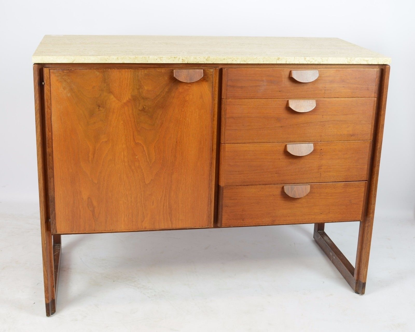 Rare Set Of 3 Office Credenzas By Jens Risom Design. There Are Lots More  Pictures