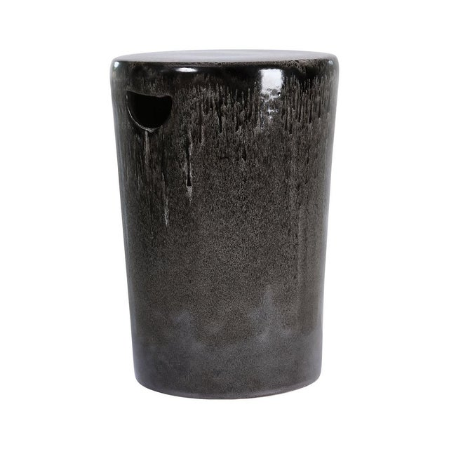 2020s Oden Ceramic Garden Stool For Sale - Image 5 of 5
