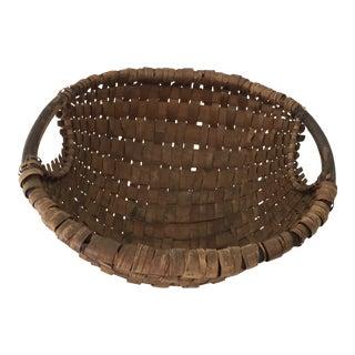 Vintage German Gathering Basket For Sale
