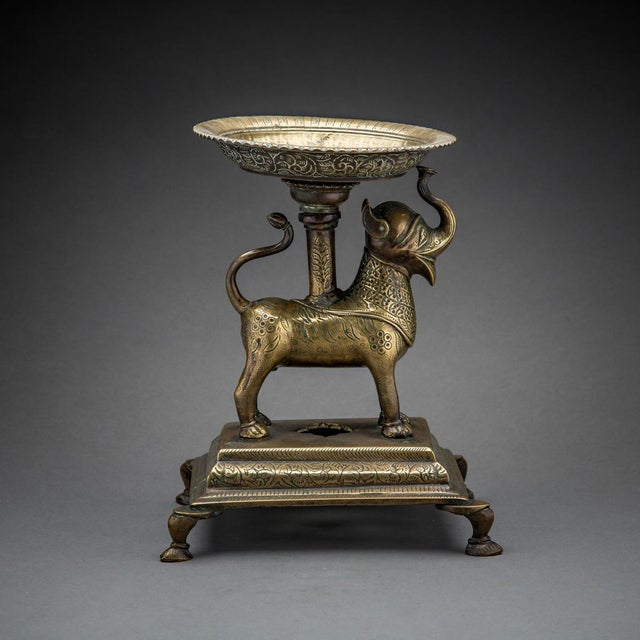 Indian Incense Burner in the Form of an Elephant For Sale - Image 4 of 4