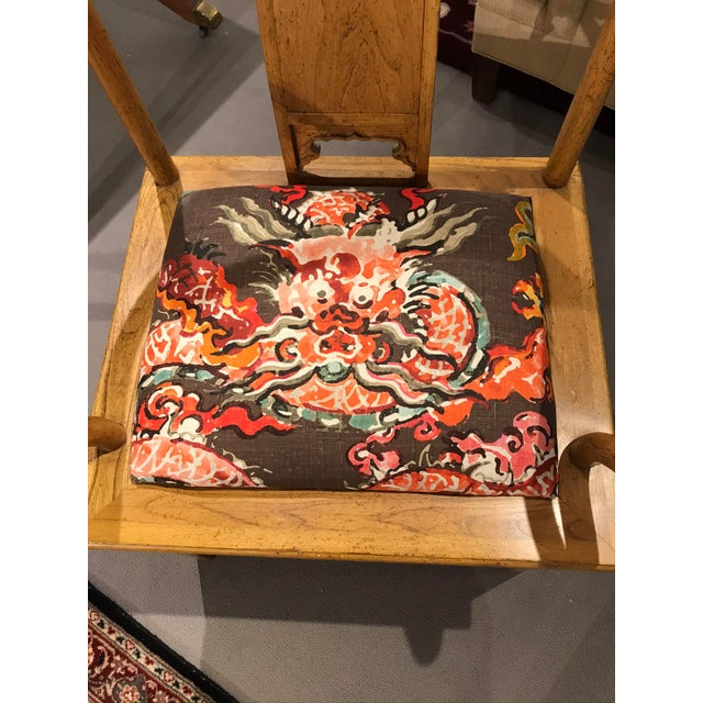 Asian 1960s Ming Style Baker Arm Chair For Sale - Image 3 of 6