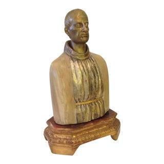 19th Century Bust of Saint Sebastian For Sale