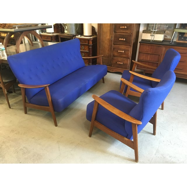 Danish Mid-Century Modern Loungers - A Pair - Image 3 of 3