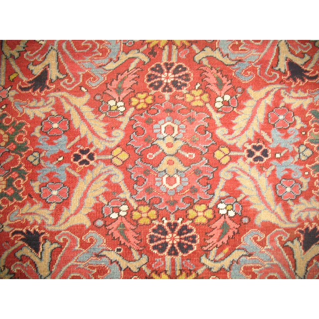 Antique Persian Heriz Rug - 8′4″ × 10′11″ - Image 8 of 11