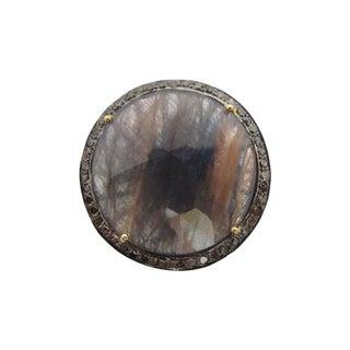 Turkish Sapphire Diamond Ring For Sale