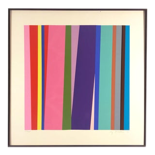 1970s Vintage Jay Rosenblum Limited Edition Screenprint For Sale