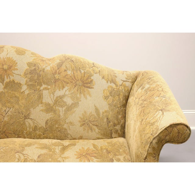 Wood Southwood Camelback Chippendale Style Sofa For Sale - Image 7 of 13