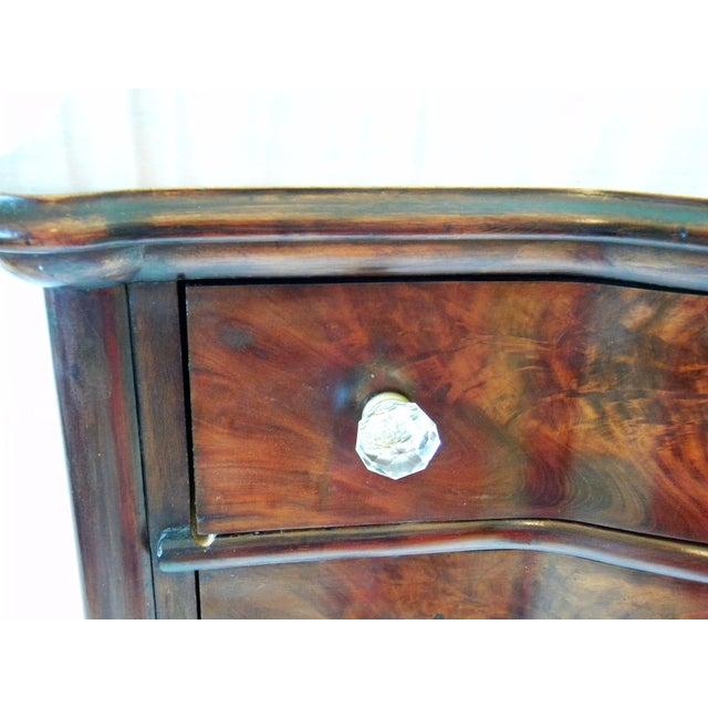 Antique Flamed Mahogany Dresser For Sale - Image 11 of 12